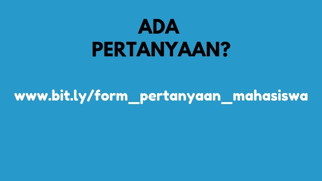 Link form pertanyaan mahasiswa